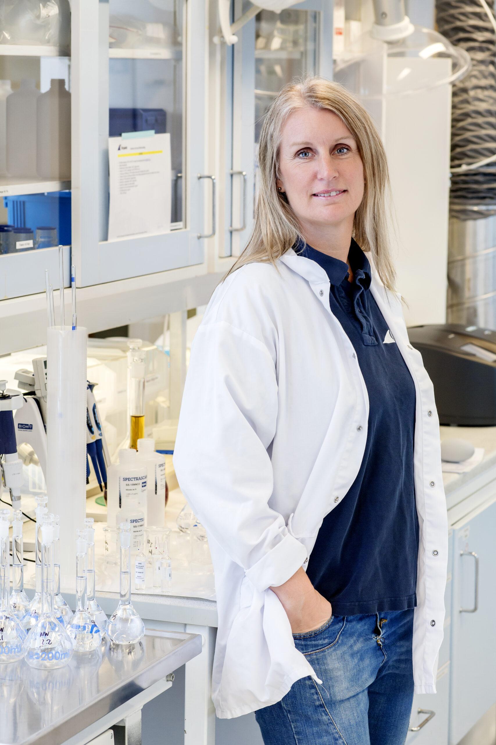 Annette Johansson, laboratoriechef