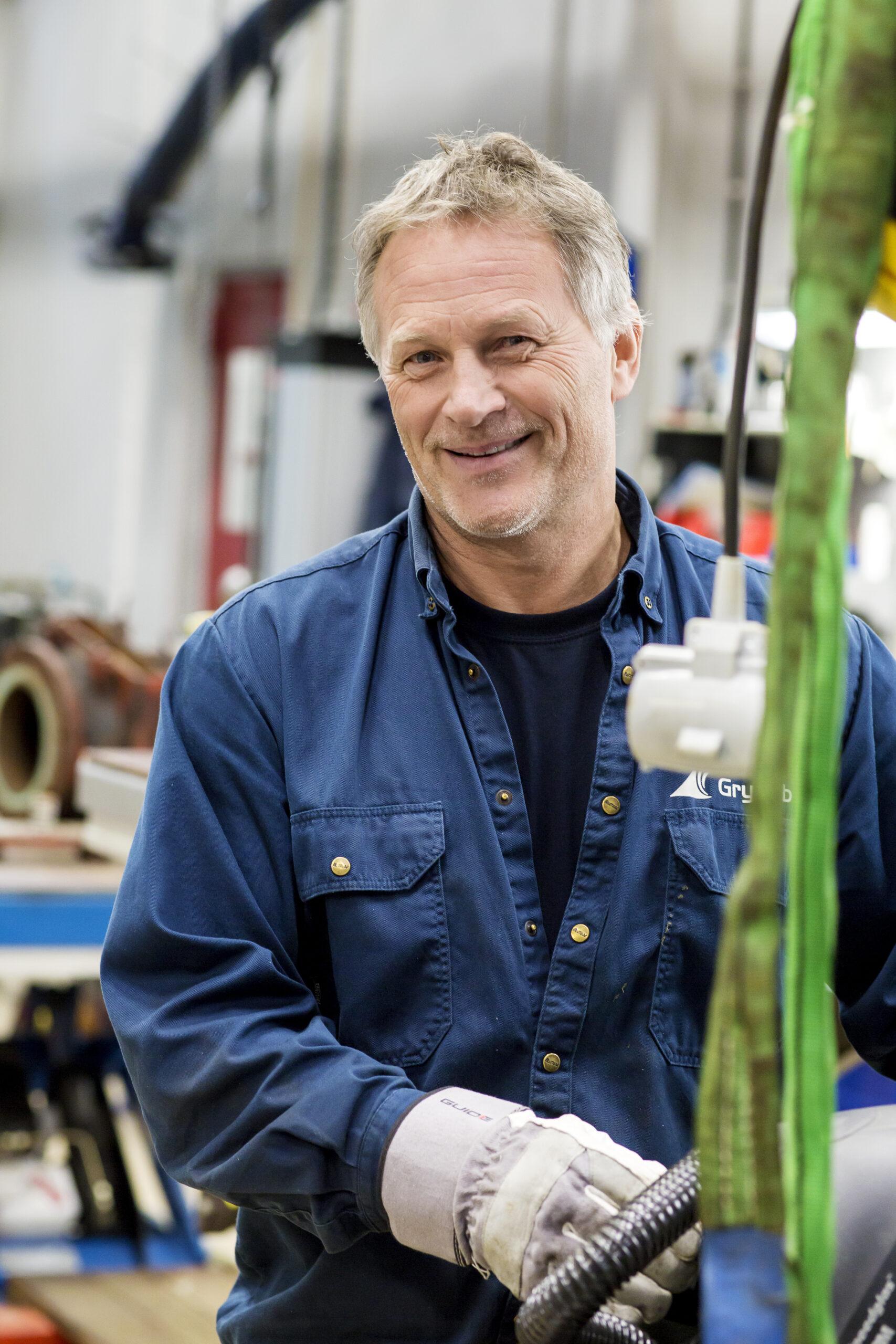 Börje Pettersson, drifttekniker