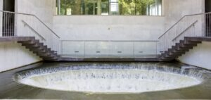Gryaabs vattensnäcka för utgående renat avloppsvatten