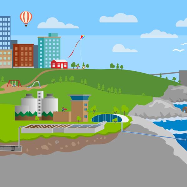 Illustration över spelet Spoleborg för skolelever